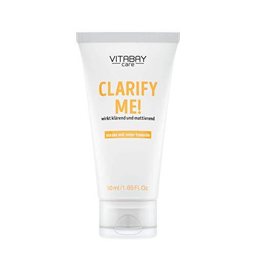 Clarify Me! - Masque facial pour une peau lisse et éclatante - Argile rouge & Caviar Lime - 50 ml