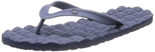 Volcom Herren Relaxsessel Rubber 2 Flip Flop Sandale, Blau (slate blue), 48 EU