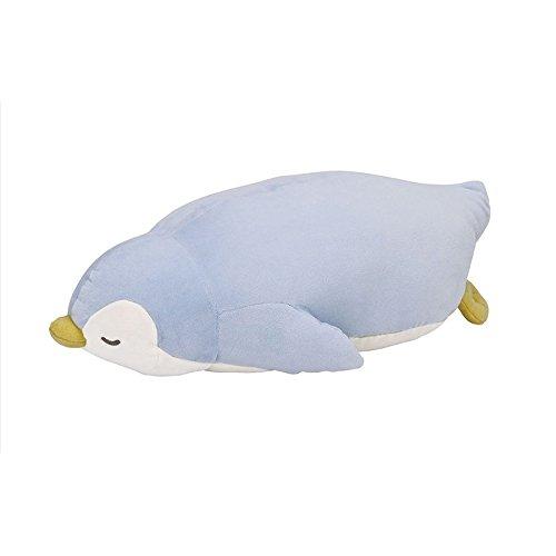 りぶはあと 抱き枕 プレミアムねむねむアニマルズ ペンギンのラブ Lサイズ W60xD32xH18cm 28977-61