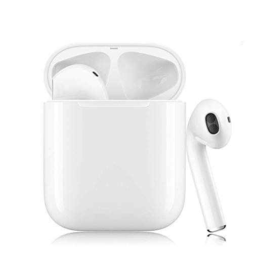 Wireless Earbuds Bluetooth 5.0 Headphones Bluetooth Earbud 3D Stereo IPX7 Waterproof Noise Cancelling Fast Charging for Apple/AirPods Pro/iPhone/Samsung/Android Sports Earphone