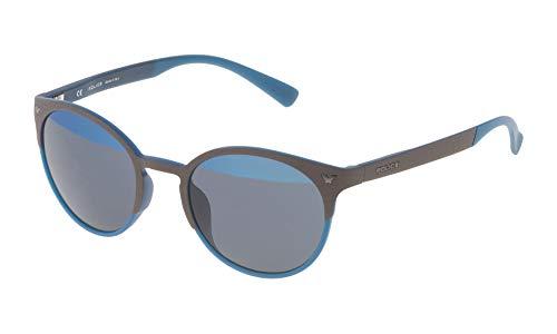Police SPL162V50MB6H Gafas de sol, Azul, 50 Unisex