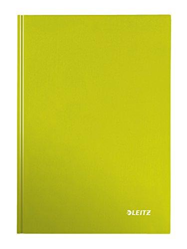 Leitz 46261064 Notizbuch WOW, A4, kariert, grün.