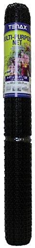 Tenax 2A090059 Muti-Purpose Multipurpose Net, 4' x 50', Black