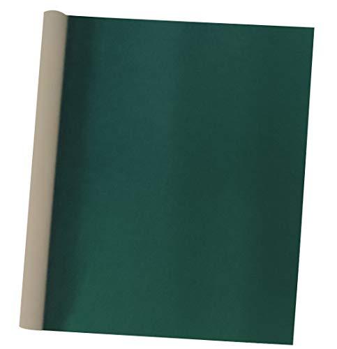 Self Adhesive Green Velvet Flock Shelf Liner for Dresser Handbag Box Drawer Cabinet Backdrop Peel and Stick Soft Craft Fabric DIY 17.7