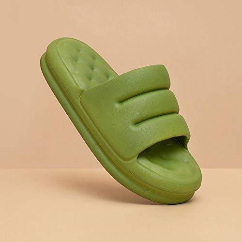 XJJ Zapatillas De Casa,Youdiao Mute Sofá Cómodo Diapositivas Mujeres Gruesa Suela Suave Interior Zapatillas De Interior Mujeres Sandalias Antideslizantes Hombres Plataforma De Verano Zapatos De Mujer