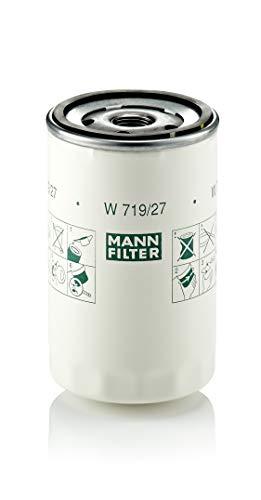 Original MANN-FILTER Ölfilter W 719/27 – Für PKW und Nutzfahrzeuge