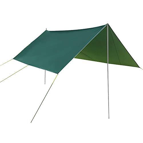 SZSMD Lona impermeable para hamacas, lona para hamaca, protección UV, ligera y portátil para camping, senderismo, actividades al aire libre