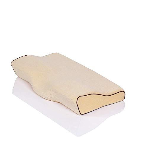 JINGJIU Memory Foam Pillow Cervical Spine Pillow Space Memory Pillow Slow Rebound Butterfly Neck Pillow