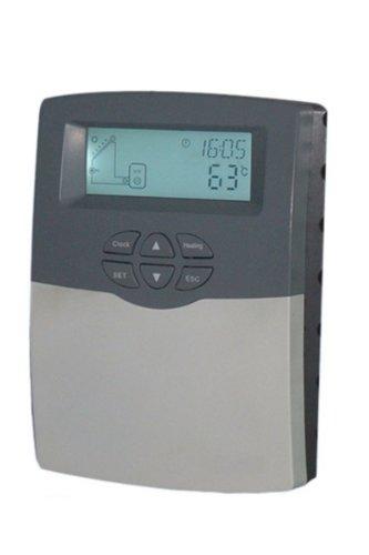Solarsteuerung, Temperaturdifferenzregler für Heizungs- und Schwimmbadanlagen