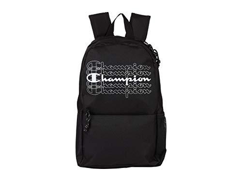 Champion Unisex-Erwachsene Velocity Rucksack, schwarz, Einheitsgröße