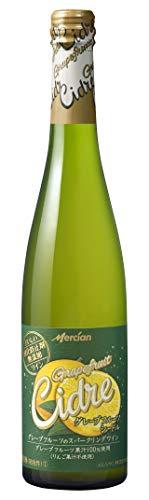 おいしい酸化防止剤無添加ワイン グレープフルーツシードル [ シードル 500ml×12本 ]