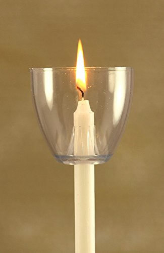 Candles & Wind Shields (Clear) Made in USA