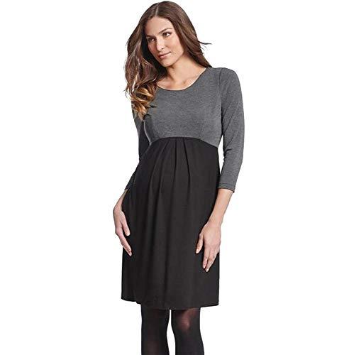 DYMBS Vêtements de maternité Nouvelle Star tempérament Femmes Enceintes Robe d'été Robe Femmes Enceintes Jupe Femmes Enceintes Jupe Longue