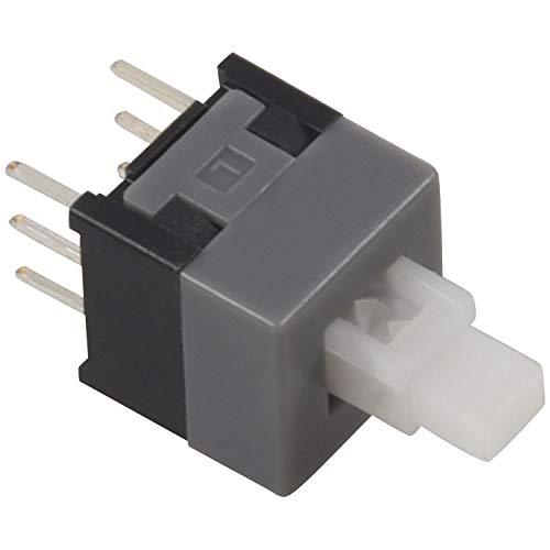 Didad DPDT de 6 Clavijas Tact. de Enclavamiento Interruptor de BotóN TáCtil 20 Piezas