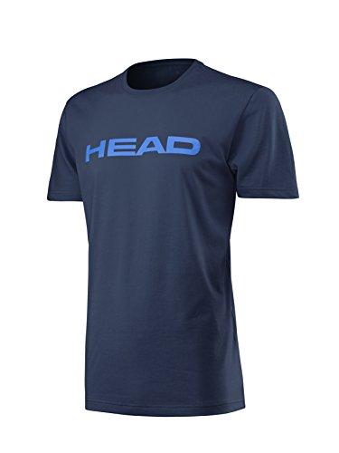 HEAD Transition Ivan JR T-Shirt Enfant, Bleu Marine/Bleu, 128