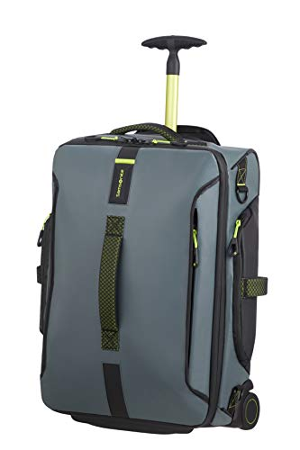 Samsonite Paradiver Light - reistas met 2 rollen S, 55 cm, 48,5 L, grijs (Trooper Grey)