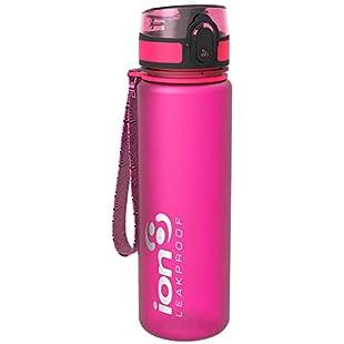 Customer reviews Ion8 Leak Proof Slim Water Bottle, BPA Free, 500ml/18oz