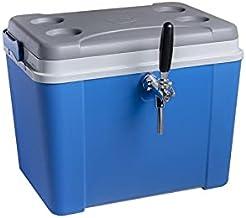 Chopeira a Gelo Lavita caixa 34l - azul com serpentina em alumínio 1 via sem torneira