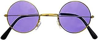 نظارة شمسية فاشون للبنات فريم ذهبي و العدسات لون بنفسجي من لوديك