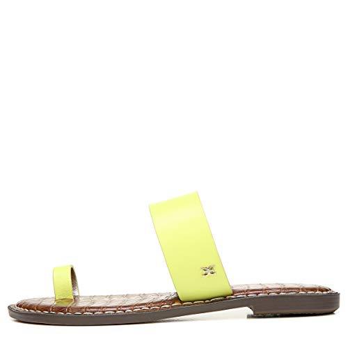 Sam Edelman womens Gorgene Slide Sandal Lime Cocktail 9 M
