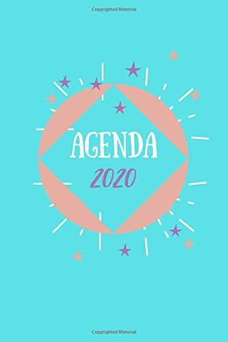 Agenda 2020: Agenda scuola, Agenda Lavoro, Agenda Università, Agenda settimanale, Diario scolastico, Agenda giornaliera 12 mesi, calendario gennaio a ... universitaria, planner (Italian Edition)