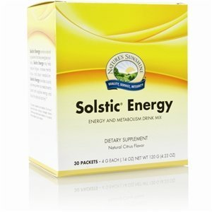SOLSTIC Energy Drink Mix (30 sachets) by Nature's Sunshine NSPUK