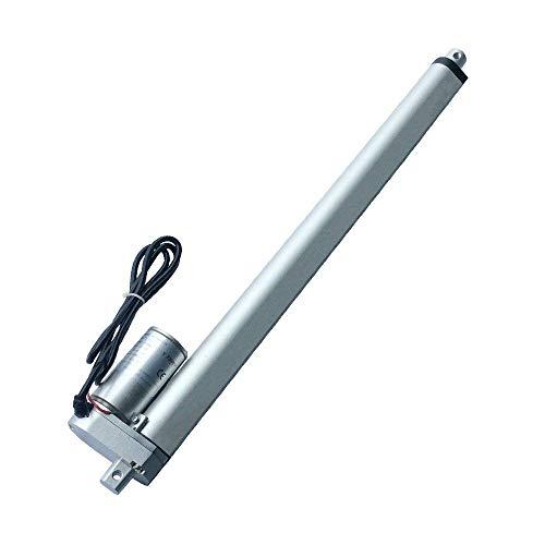 1pc LD DC 12V Attuatore lineare per motore elettrico 100-750N 50-1000mm Corsa 10-50mm / s Velocità motore lineare Putter per monociclo elettrico (Colore: 50Stroke (mm) 100N, Dimensioni: 50mm s velocit