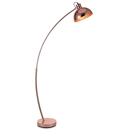 Lámpara LEDde pie doradaestándar curvadaArco de VersanoraVN-L00025-EU