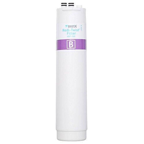 Brita Redi-Twist Under Sink Replacement Filter - 2PC