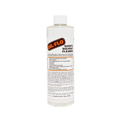Titan Oil Flo Safety Solvent Cleaner, 16 Ounce