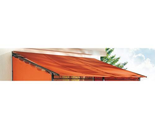 GRASEKAMP Qualität seit 1972 Ersatzdach Rollpavillon 3x4m Terra Plane Bezug Markise