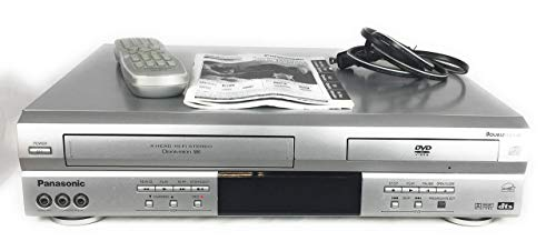 Review Panasonic PV-D4733S Double Feature DVD/VCR Combination Deck