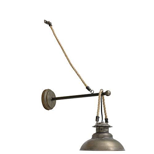Light & Living Design wandlamp 39x23x32,5 cm ARKLOW brons met touw