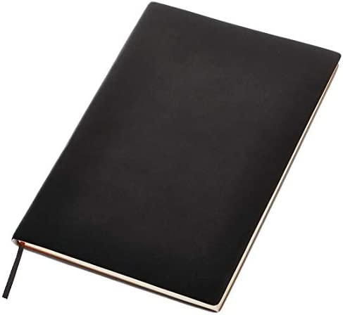 UNIS Lined Journal Notebook Pad Hard Cover 8 x 6 inches 100 Sheets Ruled Paper product image
