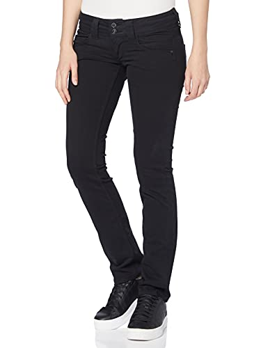 Pepe Jeans Damen Jeans Venus_PL210006, Schwarz (Black 999-T41), 27W/30L