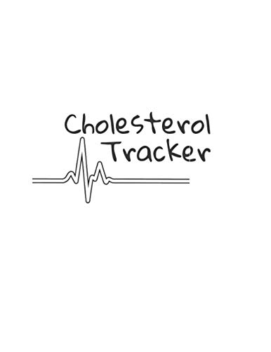 Cholesterol Tracker: Daily Cholesterol Tracker Record Levels health & Medical Log Progress Monitor