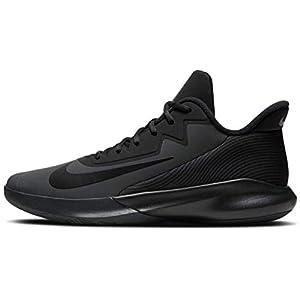 Nike Men's Precision IV Basketball Shoes, Dark Smoke Grey/Black, 8