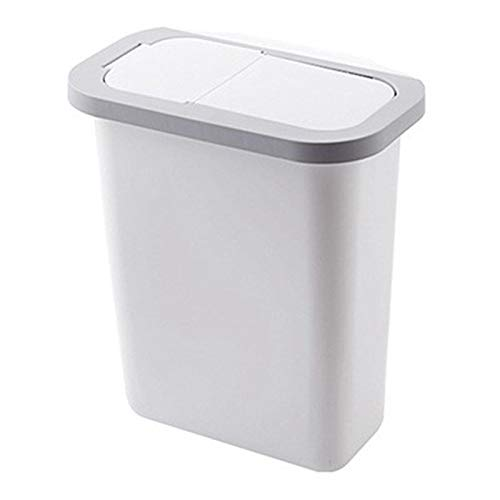 XINLANYU Folding Trash can Kitchen Cabinet Door Trash can Trash can Trash can Wall-Mounted