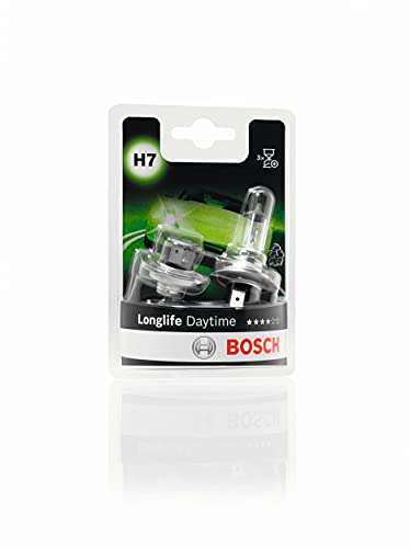 Bosch H7 Longlife Daytime lampadine faro - 12 V 55 W PX26d - lampadine x2