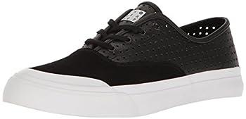 HUF Men s Cromer Skateboarding Shoe Black Perforated 9 US/9 M US