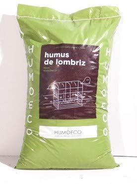Humus de lombriz- Fertilizante Orgánico 100% Eco