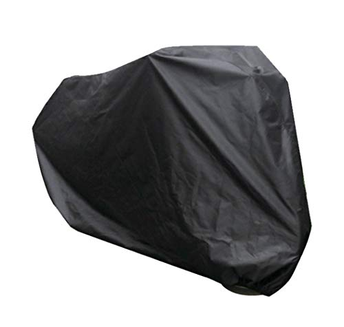 Bike Cover with Storage Bag and Buckle Foldable and Easy Carry Waterproof Bicycle Cover Indoor Outdoor Storage for Mountain Bike (220 * 95 * 110 CM)