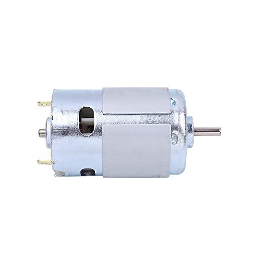 Motor de 895 CC, 12 V, 24 V, 6000 – 12000 rpm Micro motor eléctrico de alta velocidad doble rodamiento de bolas Motor de alta potencia para taladro DIY