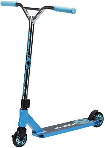 Krunk – Carving speziales Stuntscooter (Farbe: 545 blau/Silber)