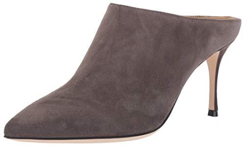 Sergio Rossi Women's Godiva Mule, Grey, 36.5 Medium EU (36,6 US)