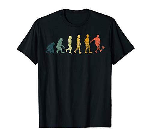 Retro Evolution Fußball T-Shirt