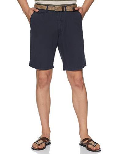 Celio Noslackbm Short Homme-Blanc (Navy799)-X-Small