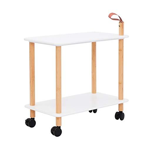 Pflegetisch, Laptoptisch Mit Rollen, Beistelltisch Notebooktisch, Für Büro Schlafzimmer, Multifunktion Mermaid Schwanz zum (Color : Belt Handle)