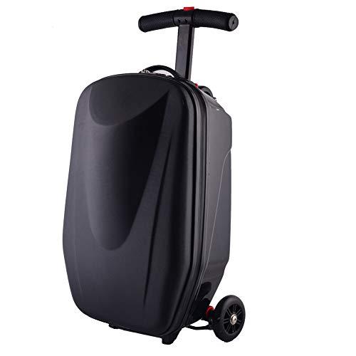 Bagage opvouwbare scooter koffer, 20 inch Scooter Bagage voor volwassenen dragen op koffer opvouwbare Trolley Case Tassen Met TSA ronde douaneslot voor reizen, Business en School