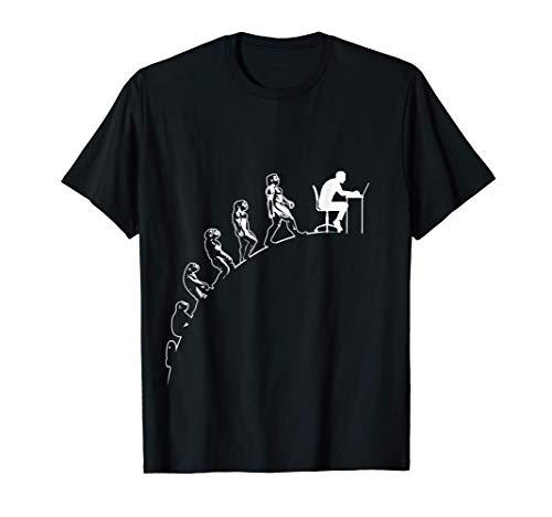 Soporte técnico informático Nerd Geek Evolución del hombre Camiseta